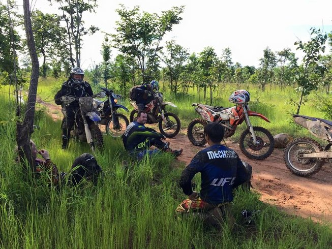 5 Days Off-Road Northern Cambodia Motorbike Tour