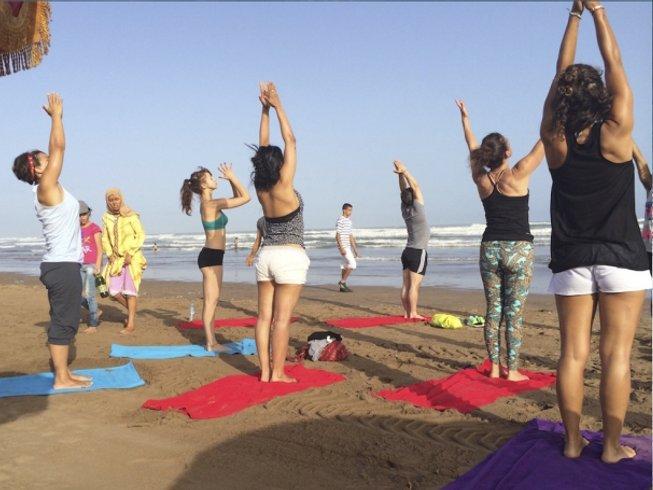 7-Daagse Surf en Yoga Retraite in Casablanca, Marokko