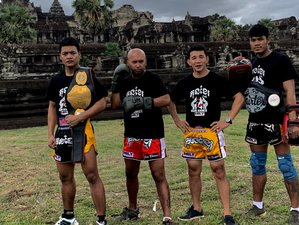14 Days Fight Camp and Kun Khmer Kickboxing Training in Siem Reap, Cambodia