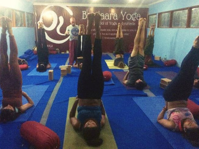 28 Days 200 Hours Multi-Style Yoga Teacher Training in Dharamsala 4 Weeks