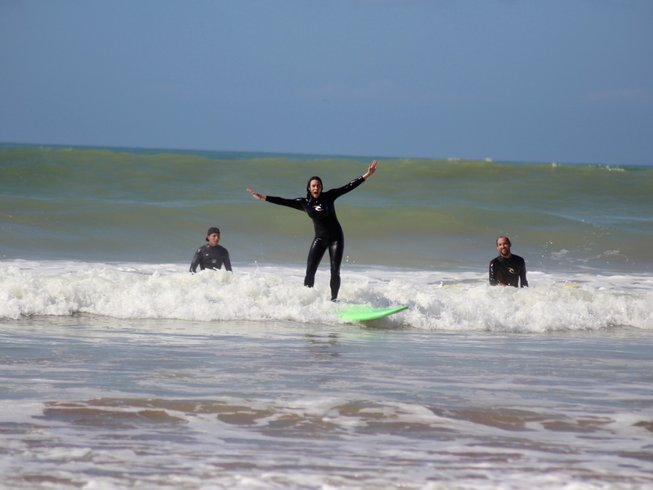 8 Days Surf School Package in Taghazout