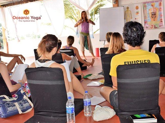 25 Days 200-Hour Hatha and Vinyasa Flow Yoga Teacher Training in Goa, India
