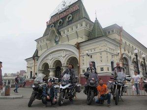 25 Days Moscow to Vladivostok Challenging Motorcycle Tour Russia
