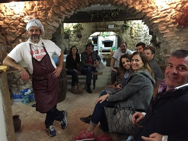 7 Days Italy All-Inclusive Cooking, Food & Wine Holiday in Rome Countryside