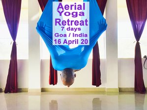7 Days Aerial Yoga Holiday in Goa, India