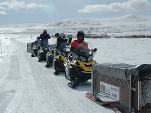 8 Days Lapland Guided Snowmobile Tour in Sweden and Finland