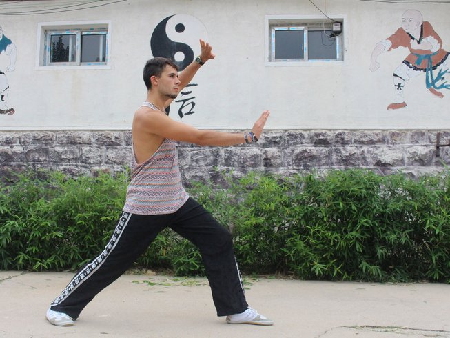 10 Months Study Chinese traditional Martial Arts & Kungfu & Culture in China