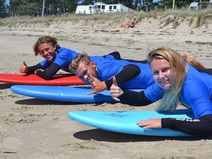 4 Day Progressive Surf Camp in Whangamata, North Island