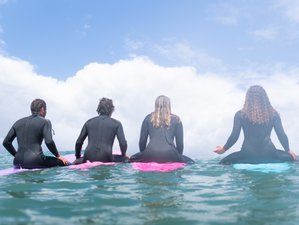 8 Day Surf Emotions and Authentic Yoga retreat in Ribamar, Ericeira