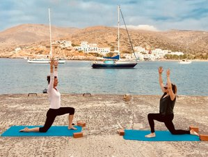 8 Day Sailing and Yoga Holiday from Santorini in Cyclades