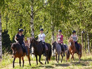3 Day Horse Riding Holiday in Saarijärvi