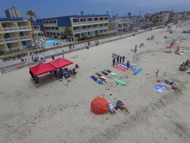 5 Days Luxurious Surf Camp California