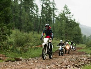 8 Days Ride to Terkhiin Tsagaan Lake Motorcycle Tour in Mongolia