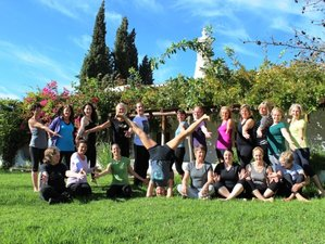 8 jours en stage de yoga Iyengar, Portugal