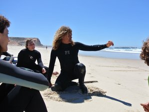 5-Daagse Yoga en Surf Retraite in Portugal