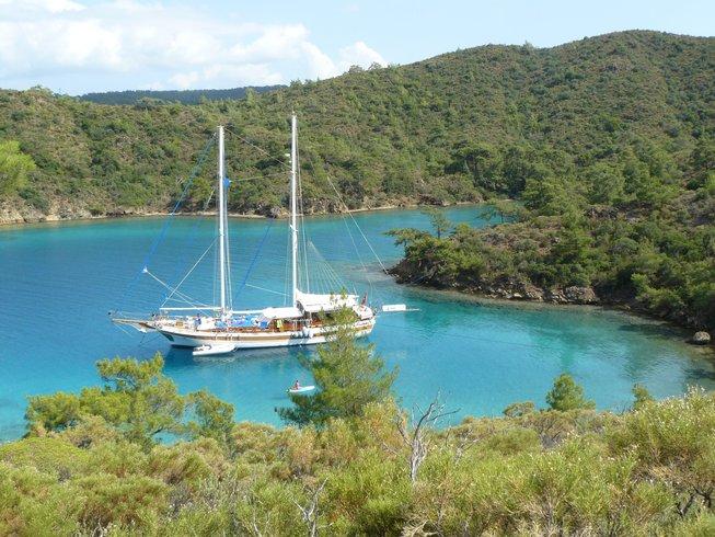 8 Tage Aquafit Yoga Retreat auf einem Segeltörn in Griechenland