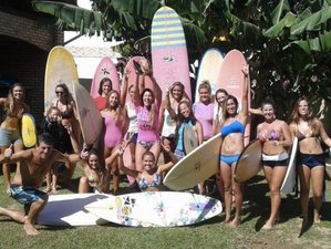 8 jours en stage de yoga et de surf dans les Caraïbes