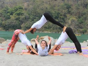 30 Day 300-hour Yoga Teacher Training in Rishikesh
