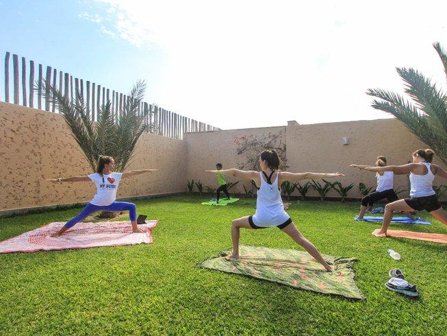 8-Daagse Kiteboarding en Yoga Kamp in Paracas, Peru