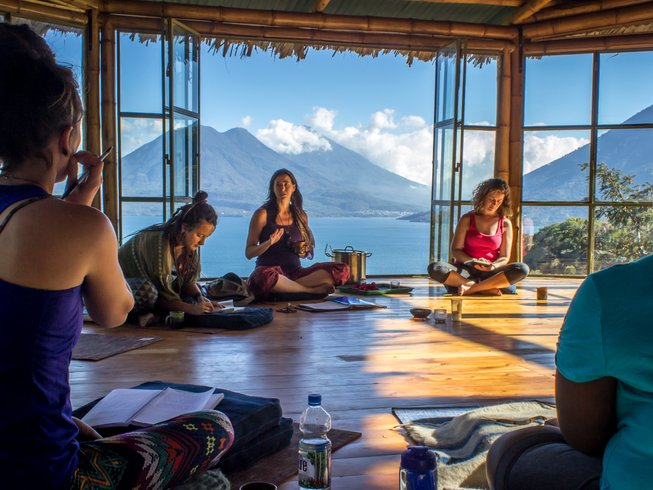 9 Days Sacred Expression Women's Yoga Retreat in Guatemala