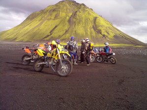 4 Day Exciting Guided Motorcycle Tour in Iceland