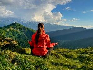 8 Days Luxury Wellness and Yoga Retreat in Kazbegi, Georgia