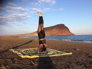 5 jours en stage de yoga et de surf à Tenerife, Espagne