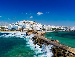 9 Days Best of Athens, Santorini, and Naxos Culture and Culinary Vacation in Greece