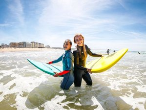 8 Day All inclusive 10 Hours Surf Coaching in Trafaria, Lisbon
