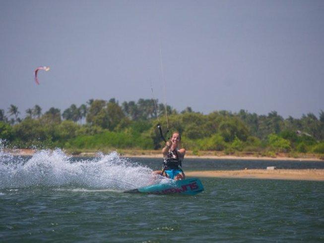 8 Days Kitesurfing Camp in Kalpitiya, Sri Lanka