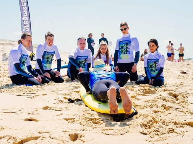 8 Days Surf Camp in Moliets, France