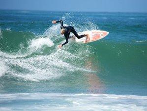 8 Tage Surf und Yoga Urlaub in Lissabon