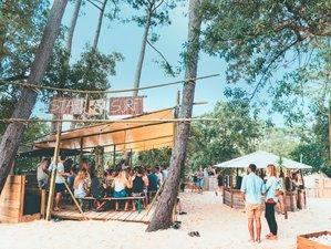 8 Tage Modernisiertes Surf Camp und Yoga Urlaub in Moliets, Frankreich