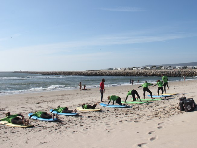 2 Days Surf Camp in Maiorca, Figueira da Foz, Portugal