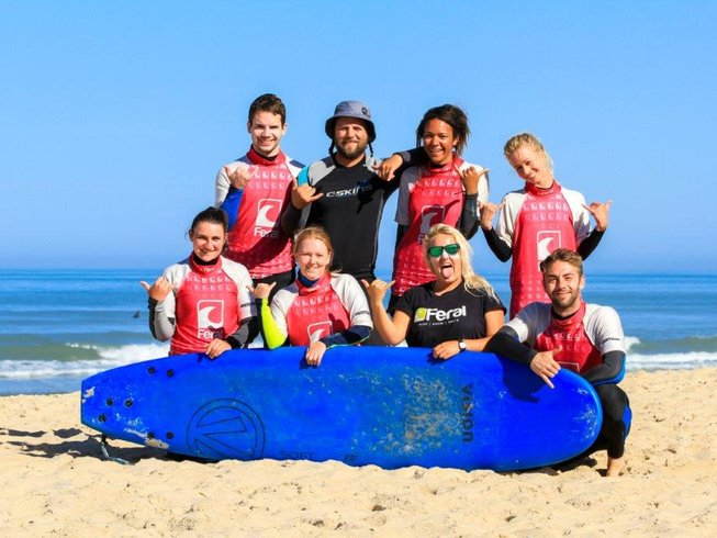 5 Days 'Getaway' Feral Surf Camp France