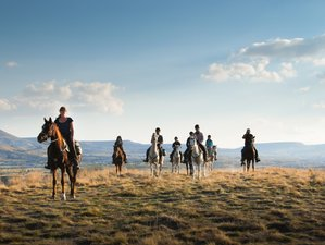 8 Days the Progressive Bivouac Horse Riding Trail in Central Anatolia, Turkey