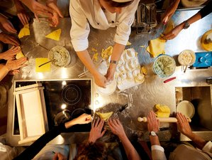 4 Day Organic Cooking Course with Wine and Olive Oil Tasting in Tuscany, Certaldo