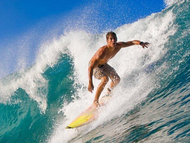 8 Days Tropical Sayulita Surf Camp Mexico