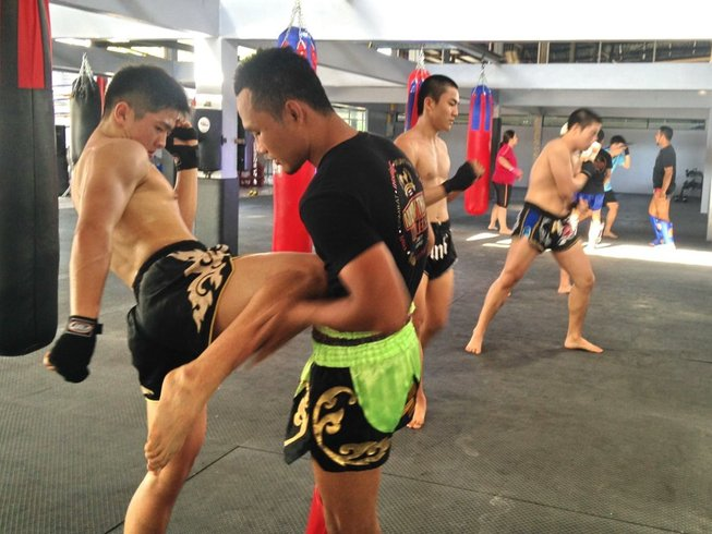 1 Month Muay Thai Training in Phuket, Thailand