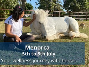 4 Day Your Wellness Journey with Horses in Son Bou, Menorca