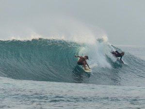 11 Days Budget Surf Trip in West Coast, Lampung, Sumatra