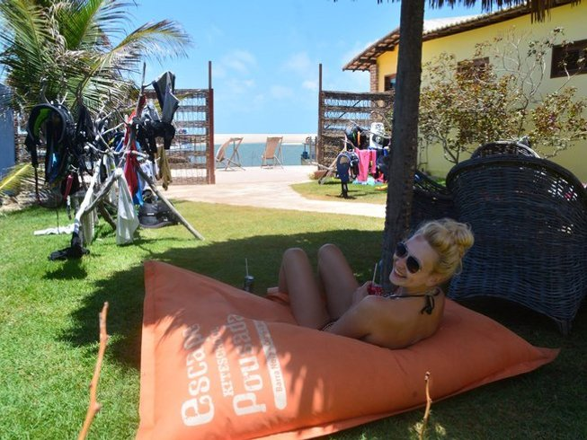 15 Tage Kite Surf Camp Spaß und Yoga Retreat in der Nordost Region, Brasilien