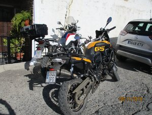 6 Day Trail Riding Guided Motorcycle Tour in Andalusia, Spain
