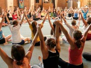 4 Days Dance into Joy Yoga New Year in Massachusetts
