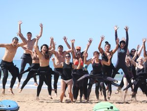 8 Day Surf and Yoga Camp in Tamraght, Agadir