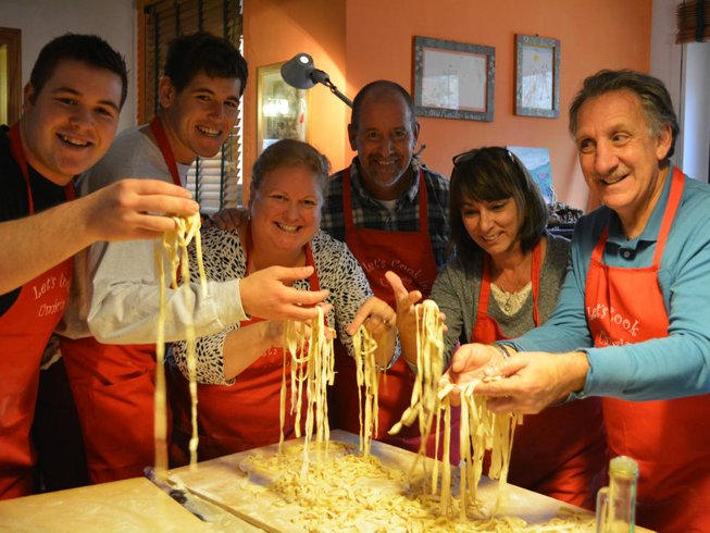 5 Days Easter Cooking Holidays in Italy