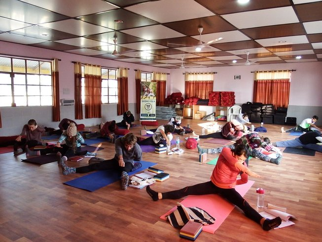 26 Days 200-Hour Yoga Teacher Training in Dharamsala, India