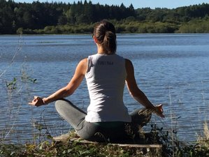 3 jours en week-end yoga féminin et découverte du yoga aérien à la Chapelle-Spinasse, Corrèze