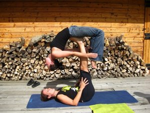 8 Days Aerial and Yoga Retreat in Muntenia, Romania