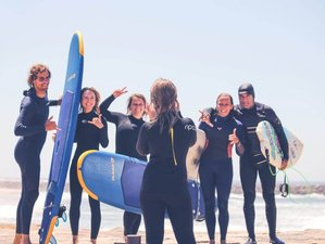 8 Days Fluidity Yoga and Surf Camp in Porto, Portugal